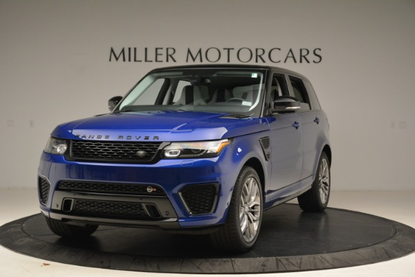 Used 2015 Land Rover Range Rover Sport SVR for sale Sold at Aston Martin of Greenwich in Greenwich CT 06830 1