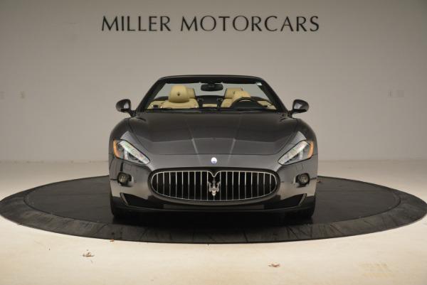 Used 2013 Maserati GranTurismo Convertible for sale Sold at Aston Martin of Greenwich in Greenwich CT 06830 12