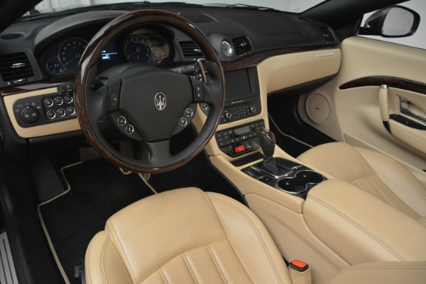 Used 2013 Maserati GranTurismo Convertible for sale Sold at Aston Martin of Greenwich in Greenwich CT 06830 25