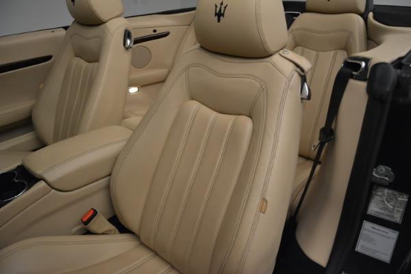 Used 2013 Maserati GranTurismo Convertible for sale Sold at Aston Martin of Greenwich in Greenwich CT 06830 27
