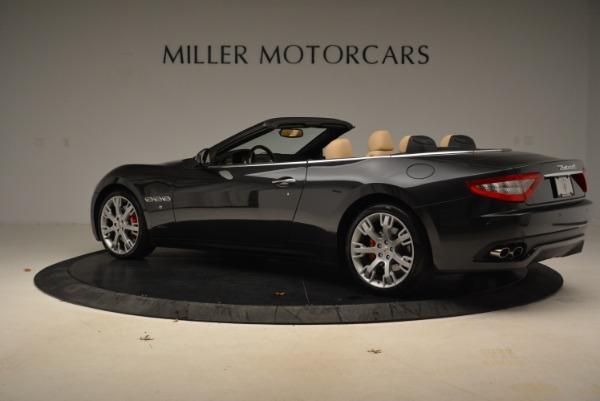 Used 2013 Maserati GranTurismo Convertible for sale Sold at Aston Martin of Greenwich in Greenwich CT 06830 4