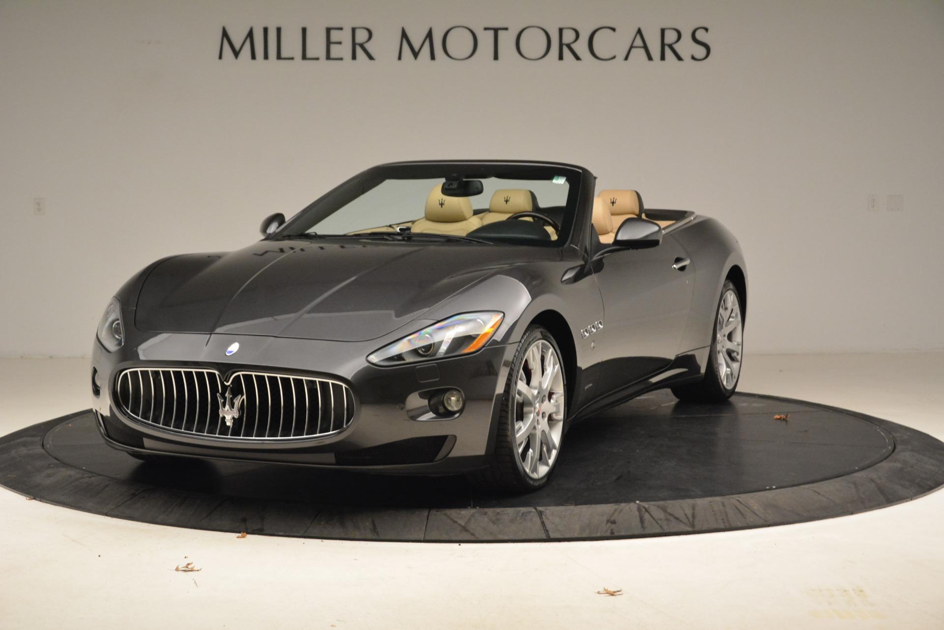 Used 2013 Maserati GranTurismo Convertible for sale Sold at Aston Martin of Greenwich in Greenwich CT 06830 1