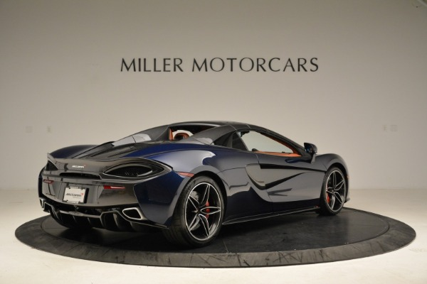 New 2018 McLaren 570S Spider for sale Sold at Aston Martin of Greenwich in Greenwich CT 06830 19