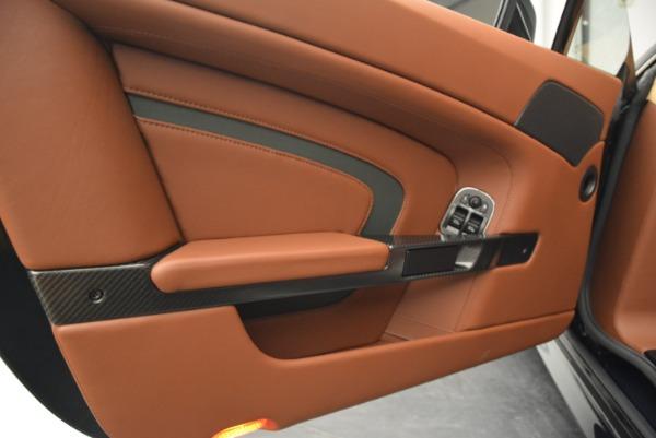 Used 2017 Aston Martin V12 Vantage S Roadster for sale Sold at Aston Martin of Greenwich in Greenwich CT 06830 23