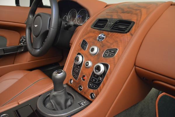 Used 2017 Aston Martin V12 Vantage S Roadster for sale Sold at Aston Martin of Greenwich in Greenwich CT 06830 24