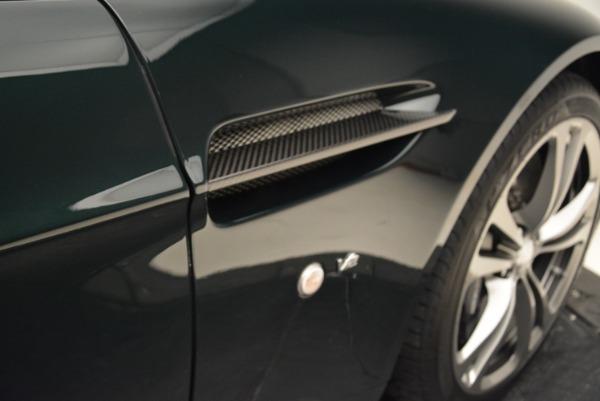 Used 2017 Aston Martin V12 Vantage S Roadster for sale Sold at Aston Martin of Greenwich in Greenwich CT 06830 27