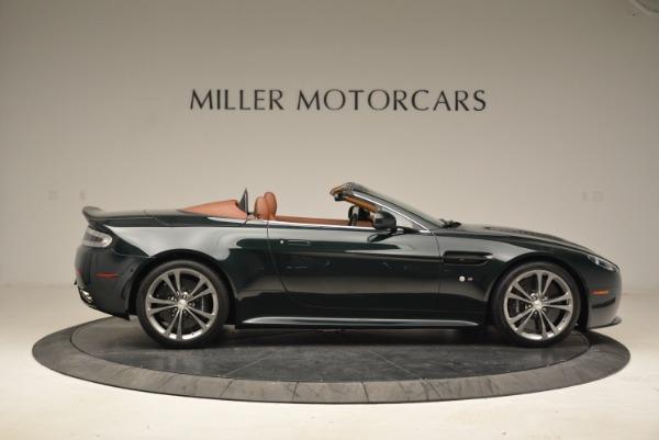 Used 2017 Aston Martin V12 Vantage S Roadster for sale Sold at Aston Martin of Greenwich in Greenwich CT 06830 9
