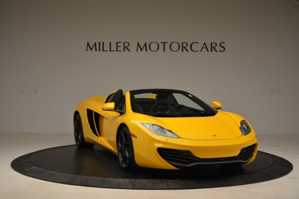 Used 2014 McLaren MP4-12C Spider for sale Sold at Aston Martin of Greenwich in Greenwich CT 06830 11