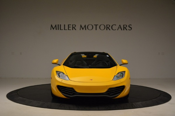 Used 2014 McLaren MP4-12C Spider for sale Sold at Aston Martin of Greenwich in Greenwich CT 06830 12