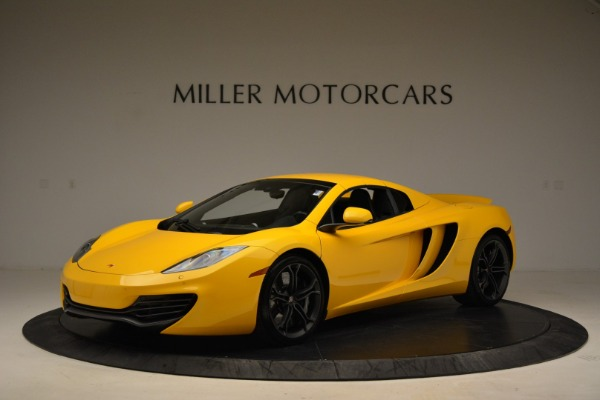 Used 2014 McLaren MP4-12C Spider for sale Sold at Aston Martin of Greenwich in Greenwich CT 06830 15