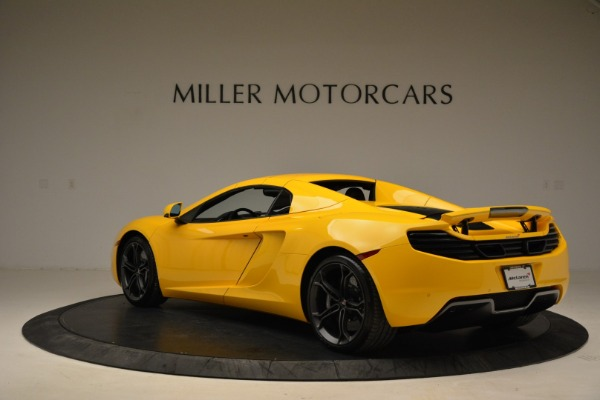 Used 2014 McLaren MP4-12C Spider for sale Sold at Aston Martin of Greenwich in Greenwich CT 06830 17