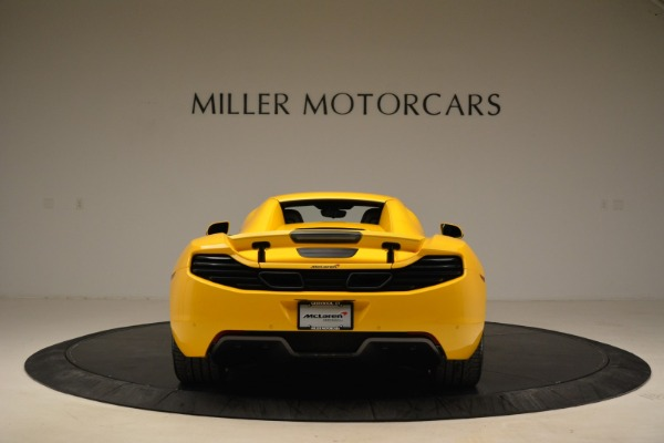 Used 2014 McLaren MP4-12C Spider for sale Sold at Aston Martin of Greenwich in Greenwich CT 06830 18