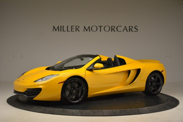 Used 2014 McLaren MP4-12C Spider for sale Sold at Aston Martin of Greenwich in Greenwich CT 06830 2