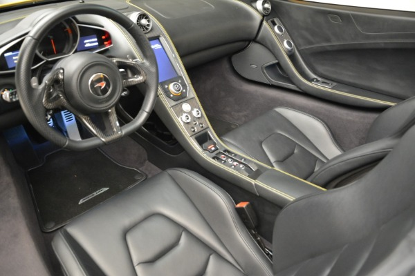 Used 2014 McLaren MP4-12C Spider for sale Sold at Aston Martin of Greenwich in Greenwich CT 06830 25