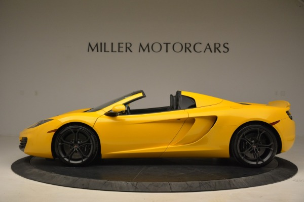 Used 2014 McLaren MP4-12C Spider for sale Sold at Aston Martin of Greenwich in Greenwich CT 06830 3