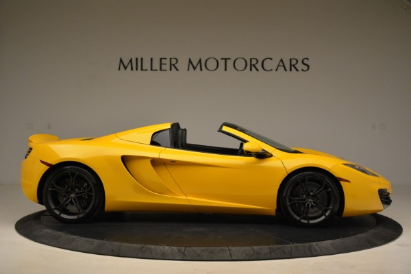 Used 2014 McLaren MP4-12C Spider for sale Sold at Aston Martin of Greenwich in Greenwich CT 06830 9