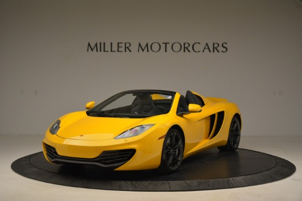 Used 2014 McLaren MP4-12C Spider for sale Sold at Aston Martin of Greenwich in Greenwich CT 06830 1