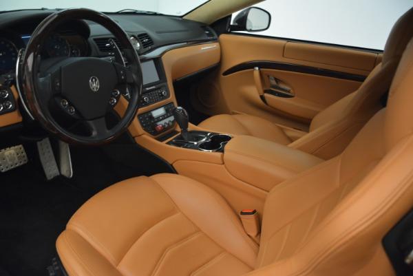 Used 2014 Maserati GranTurismo Sport for sale Sold at Aston Martin of Greenwich in Greenwich CT 06830 13