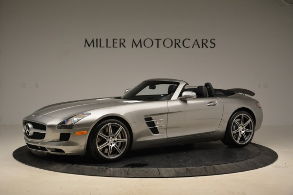 Used 2012 Mercedes-Benz SLS AMG for sale Sold at Aston Martin of Greenwich in Greenwich CT 06830 2