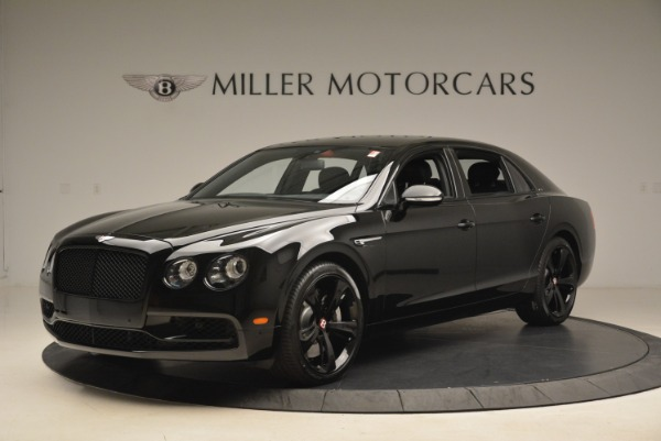 New 2018 Bentley Flying Spur V8 S Black Edition for sale Sold at Aston Martin of Greenwich in Greenwich CT 06830 2