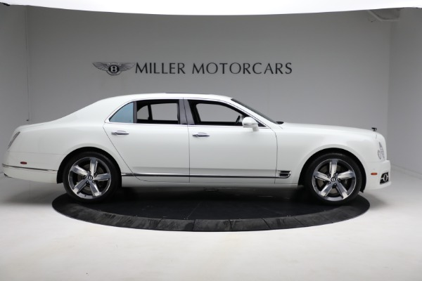 Used 2018 Bentley Mulsanne Speed for sale $228,900 at Aston Martin of Greenwich in Greenwich CT 06830 8