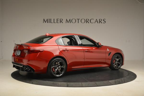 New 2018 Alfa Romeo Giulia Quadrifoglio for sale Sold at Aston Martin of Greenwich in Greenwich CT 06830 8