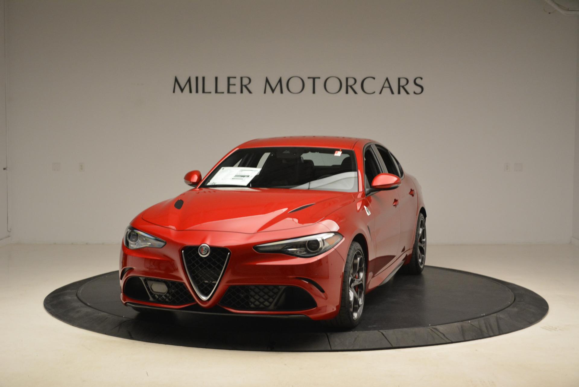New 2018 Alfa Romeo Giulia Quadrifoglio for sale Sold at Aston Martin of Greenwich in Greenwich CT 06830 1