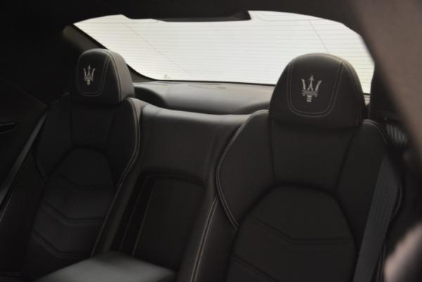 Used 2016 Maserati GranTurismo Sport for sale $61,900 at Aston Martin of Greenwich in Greenwich CT 06830 21
