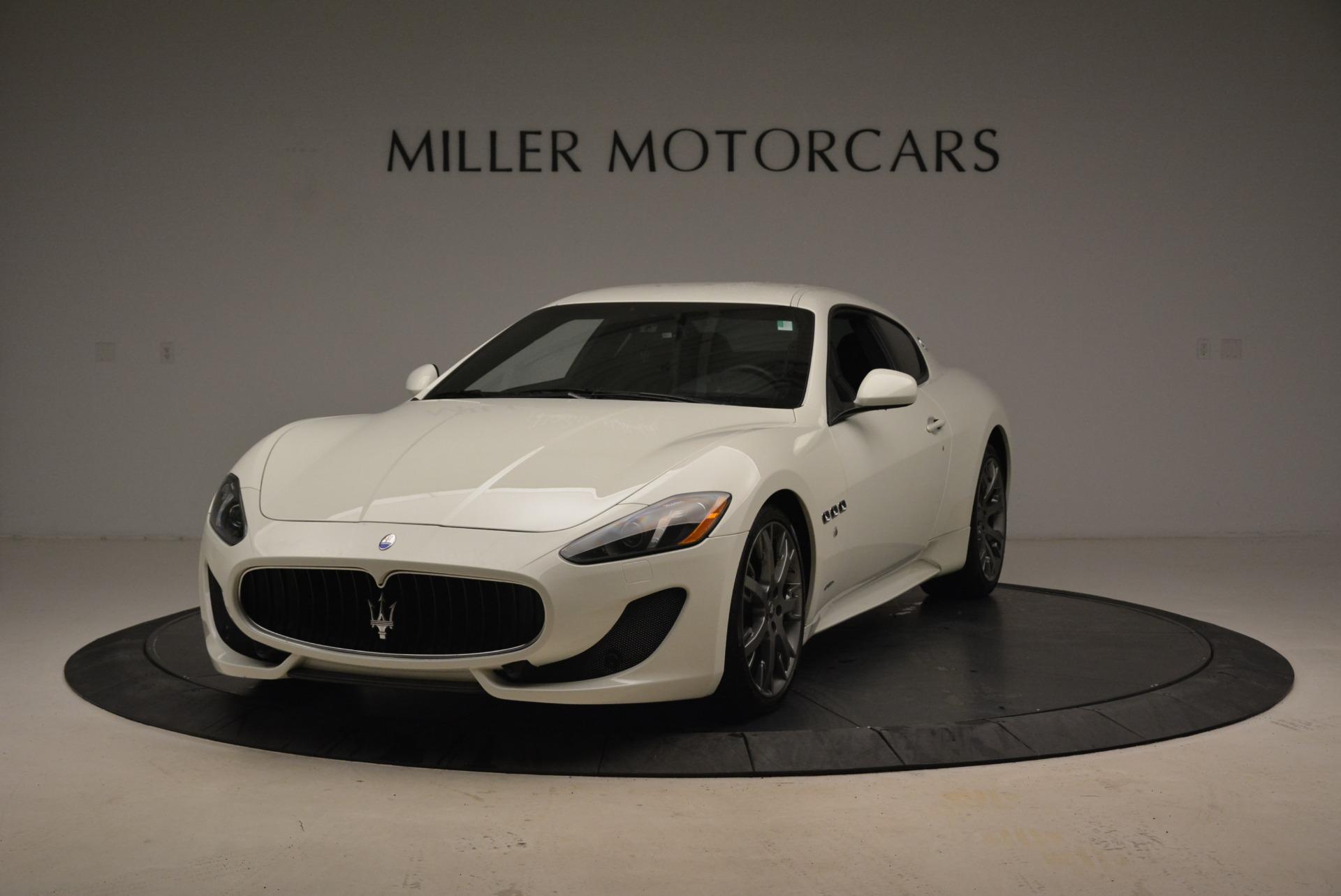 Used 2016 Maserati GranTurismo Sport for sale $61,900 at Aston Martin of Greenwich in Greenwich CT 06830 1