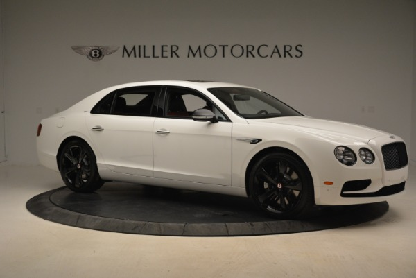 New 2018 Bentley Flying Spur V8 S Black Edition for sale Sold at Aston Martin of Greenwich in Greenwich CT 06830 10