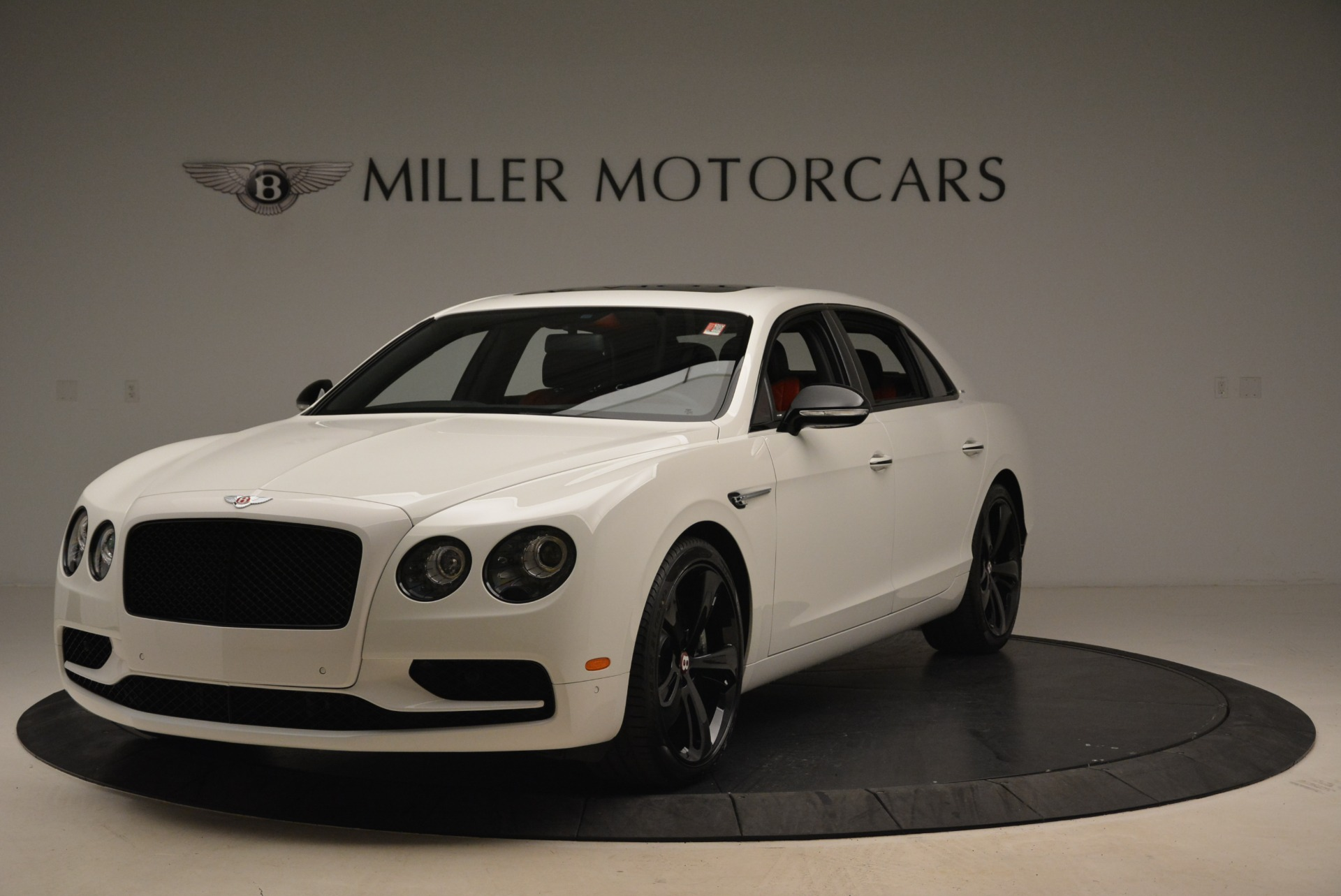 New 2018 Bentley Flying Spur V8 S Black Edition for sale Sold at Aston Martin of Greenwich in Greenwich CT 06830 1