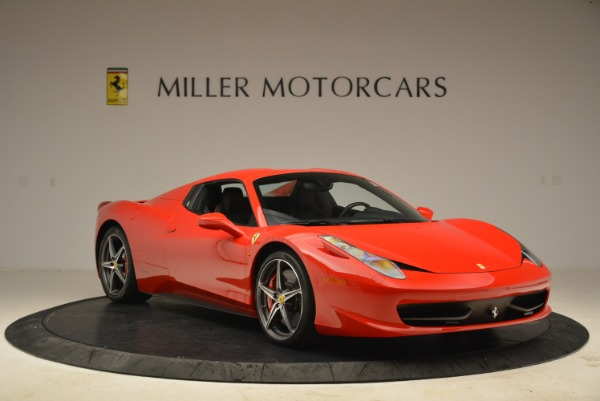 Used 2014 Ferrari 458 Spider for sale Sold at Aston Martin of Greenwich in Greenwich CT 06830 23