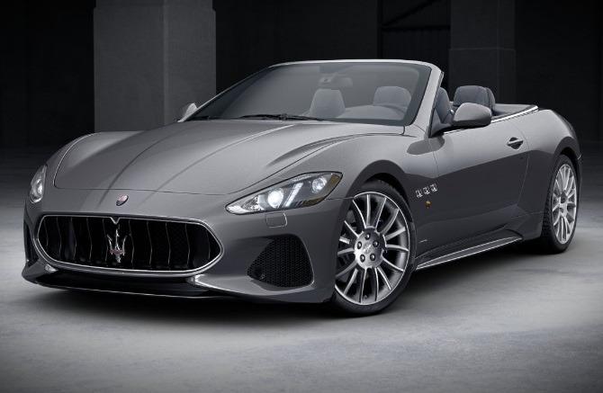 New 2018 Maserati GranTurismo Sport Convertible for sale Sold at Aston Martin of Greenwich in Greenwich CT 06830 1