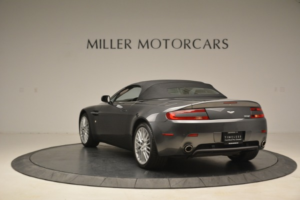 Used 2009 Aston Martin V8 Vantage Roadster for sale Sold at Aston Martin of Greenwich in Greenwich CT 06830 17
