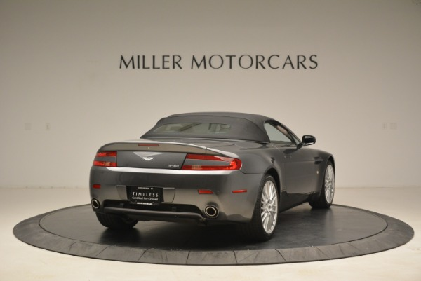 Used 2009 Aston Martin V8 Vantage Roadster for sale Sold at Aston Martin of Greenwich in Greenwich CT 06830 19