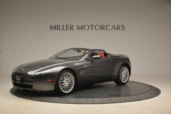 Used 2009 Aston Martin V8 Vantage Roadster for sale Sold at Aston Martin of Greenwich in Greenwich CT 06830 2