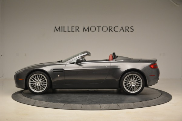 Used 2009 Aston Martin V8 Vantage Roadster for sale Sold at Aston Martin of Greenwich in Greenwich CT 06830 3