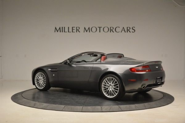 Used 2009 Aston Martin V8 Vantage Roadster for sale Sold at Aston Martin of Greenwich in Greenwich CT 06830 4