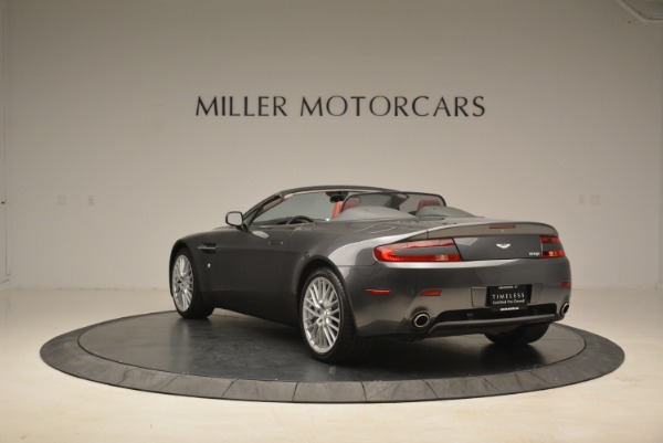 Used 2009 Aston Martin V8 Vantage Roadster for sale Sold at Aston Martin of Greenwich in Greenwich CT 06830 5