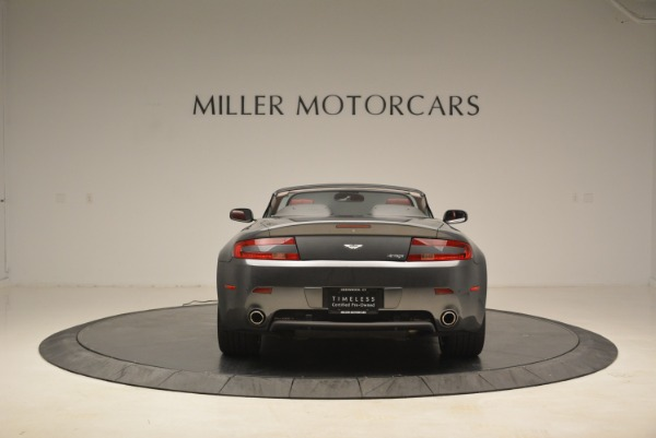 Used 2009 Aston Martin V8 Vantage Roadster for sale Sold at Aston Martin of Greenwich in Greenwich CT 06830 6