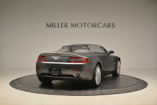 Used 2009 Aston Martin V8 Vantage Roadster for sale Sold at Aston Martin of Greenwich in Greenwich CT 06830 7