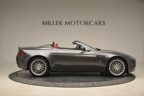 Used 2009 Aston Martin V8 Vantage Roadster for sale Sold at Aston Martin of Greenwich in Greenwich CT 06830 9