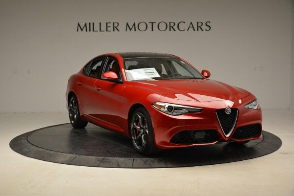 New 2018 Alfa Romeo Giulia Ti Sport Q4 for sale Sold at Aston Martin of Greenwich in Greenwich CT 06830 11