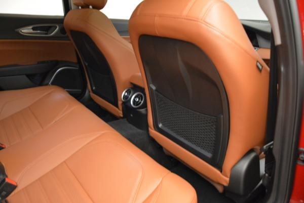 New 2018 Alfa Romeo Giulia Ti Sport Q4 for sale Sold at Aston Martin of Greenwich in Greenwich CT 06830 22