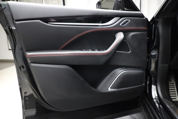 Used 2018 Maserati Levante Q4 GranSport for sale $53,900 at Aston Martin of Greenwich in Greenwich CT 06830 20