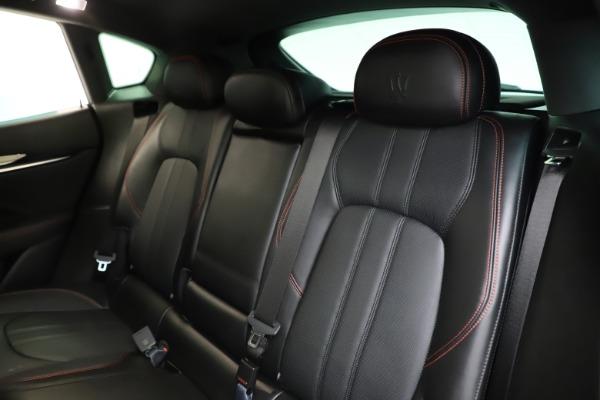 Used 2018 Maserati Levante Q4 GranSport for sale $53,900 at Aston Martin of Greenwich in Greenwich CT 06830 21