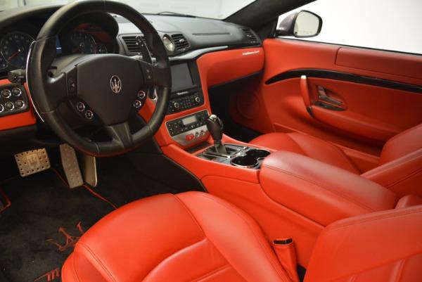 Used 2014 Maserati GranTurismo Sport for sale Sold at Aston Martin of Greenwich in Greenwich CT 06830 11