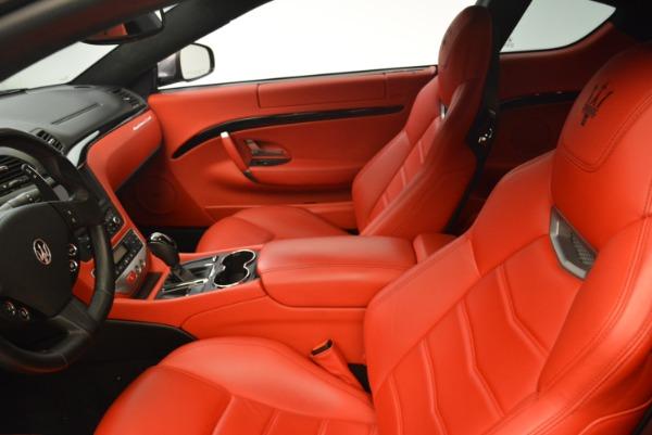 Used 2014 Maserati GranTurismo Sport for sale Sold at Aston Martin of Greenwich in Greenwich CT 06830 12