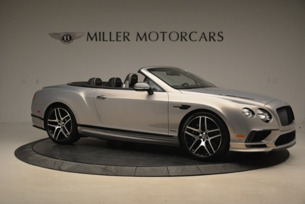 Used 2018 Bentley Continental GT Supersports Convertible for sale Sold at Aston Martin of Greenwich in Greenwich CT 06830 10