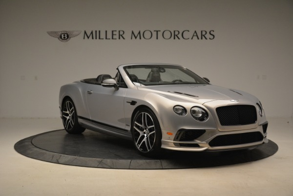 Used 2018 Bentley Continental GT Supersports Convertible for sale Sold at Aston Martin of Greenwich in Greenwich CT 06830 11